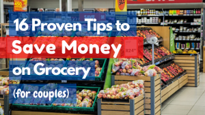 tips to save money on grocery shopping while on a budget