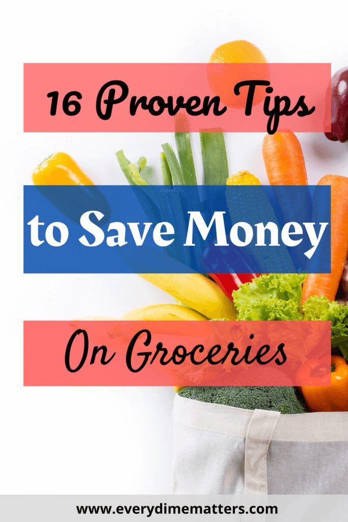 16 Proven Tips to Save Money on Groceries