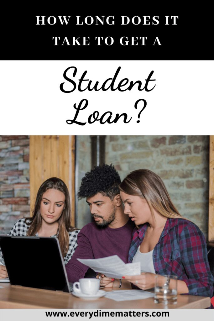 How long does it take to get a student loan