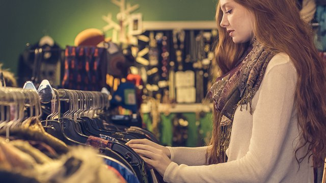 Go to a thrift store to save $20,000 for a year
