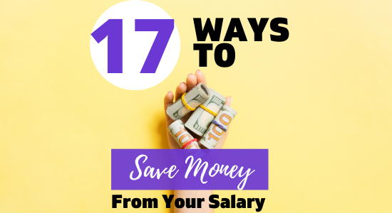 How to save money money from salary