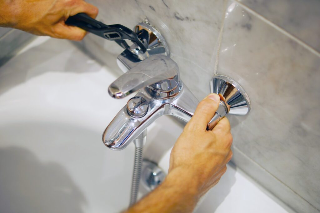 Faucet repair to prevent leaks