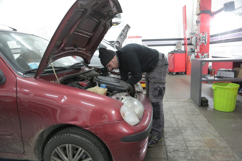 Car maintenance and safety for driving exam